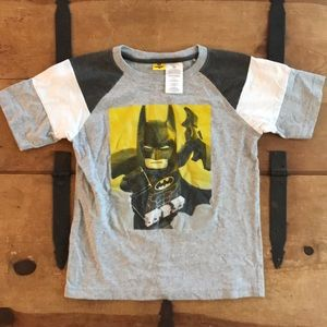 LEGO Batman Boys Grey Graphic Tee Shirt